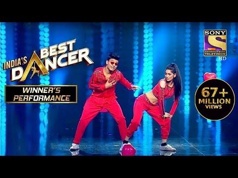 Tiger और Vartika ने दिया एक Sensational Performance   India's Best Dancer   Winner's Performance