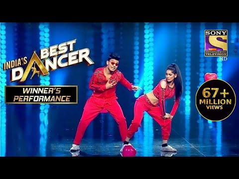 Tiger और Vartika ने दिया एक Sensational Performance | India's Best Dancer | Winner's Perfo