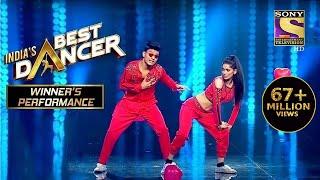 Tiger और Vartika ने दिया एक Sensational Performance India S Best Dancer Winner S Performance MP3