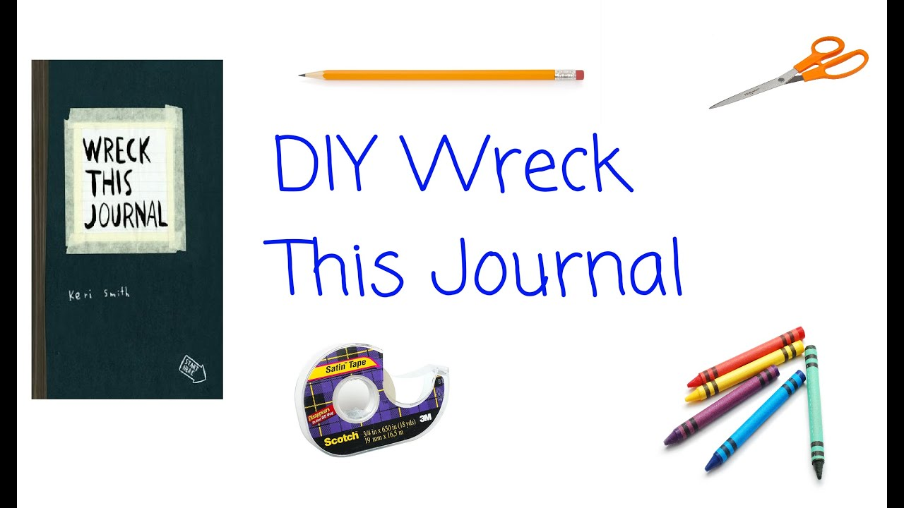 Diy wreck this journal youtube solutioingenieria Images