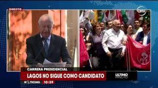 Chilevisión - EXTRA - Ricardo Lagos baja candidatura presidencial