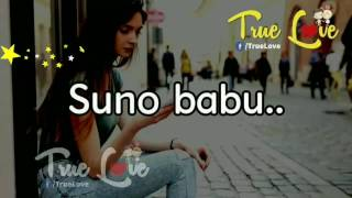 Sweet love story conversation between bf nd gf with lovely song