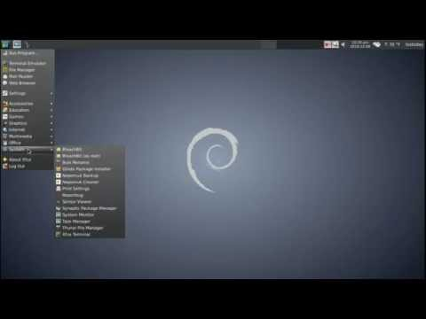 A Look At Debian Linux Jessie XFCE Style