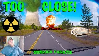 Nuclear Towers Up Close, Oysters, & Daily RV Life