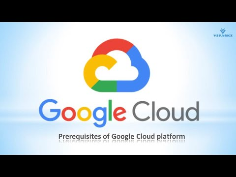 VSPARKZ   GCP   What are the prerequisites to learn Google Cloud Platform ? (In English)