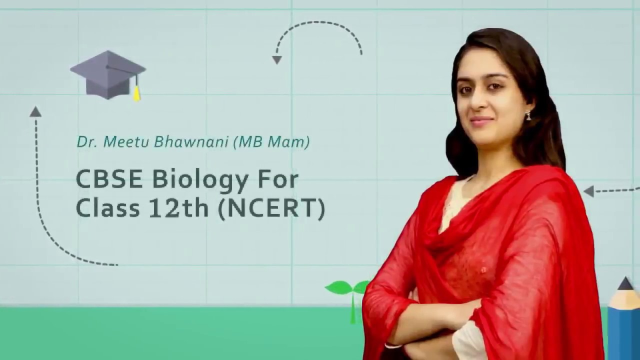 Biodiversity and Conservation Video Lectures for Class 12th by Meetu Mam by  Etoos Education