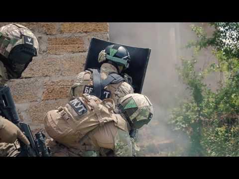 ОМОН БЕРКУТ Russian SF operatives in action