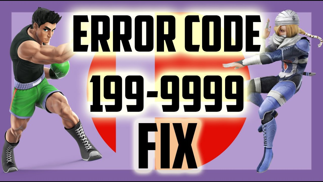 how to fix smash bros wii u error 199 9999 real solution in description youtube. Black Bedroom Furniture Sets. Home Design Ideas