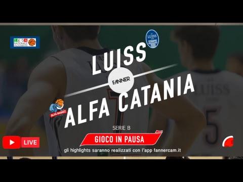 SERIE B Girone D Luiss Roma - Alfa Basket Catania