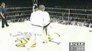 Combate entre Kunihiro Suzuki (Shin Kyokushin - Japão) e Luciano Ba...