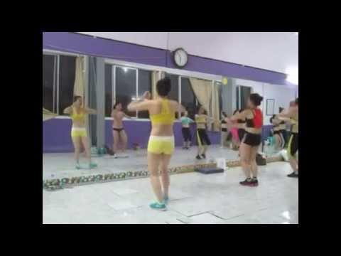 Thể dục thẩm mỹ - Bài giật người ấy 11p. LH : 0987375790