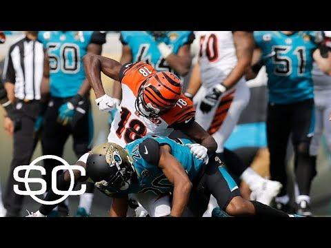 Multiple brawls throughtout the NFL on Sunday | SportsCenter | ESPN