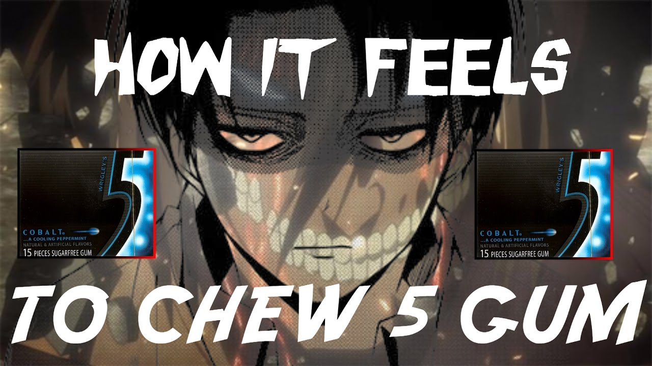 how it feels to chew 5 gum meme - Attack on titan VR ...