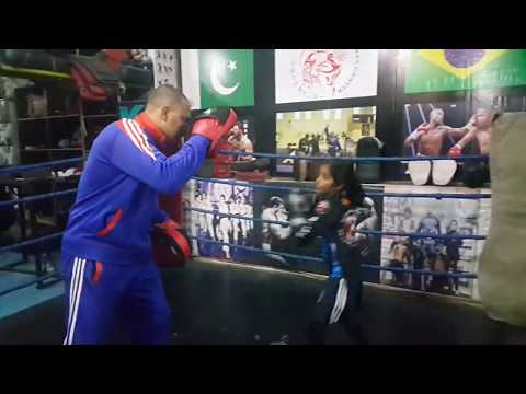 Lahore Girls and female karate martial arts and physical fitness training center