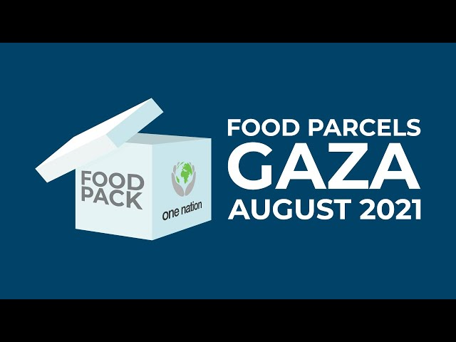 Monthly food parcels to widows In Gaza ~ August 2021