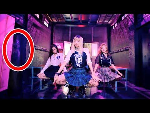7 Cosas Paranormales Captadas En Los MV K-Pop   BTS BLACKPINK ON Kinetic Manifesto Film