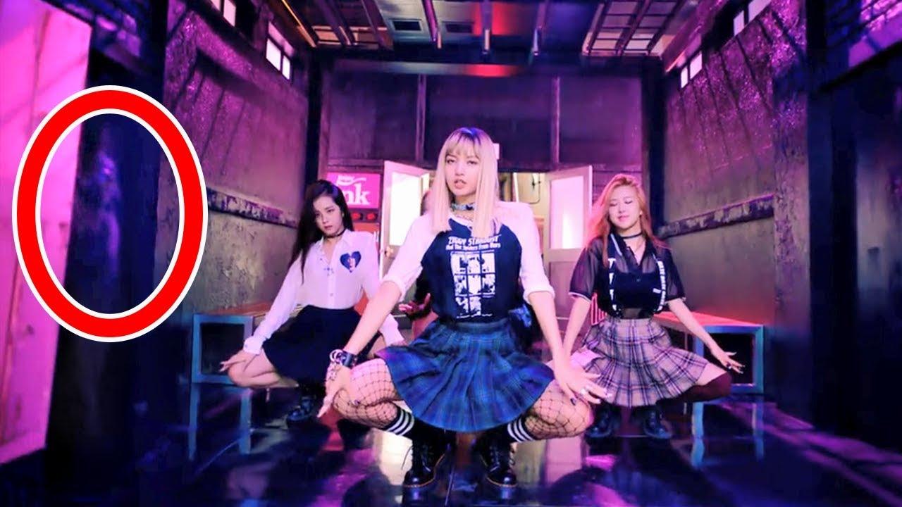 7 Cosas Paranormales Captadas En Los MV K-Pop | BTS BLACKPINK TWICE GFRIEND