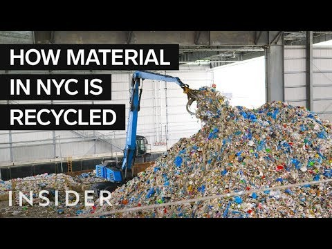 how garbage is recycled at the us largest recycling facility youtube