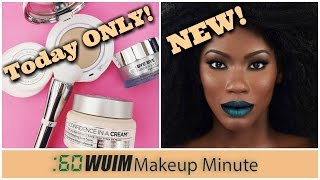 Makeup Minute | TODAY ONLY IT COSMETICS TSV + NEW from Coloured Raine and Blackmoon Cosmetics! |WUIM
