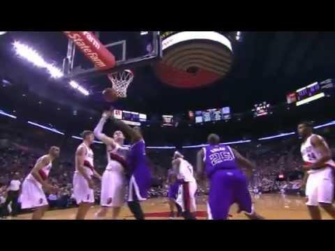 Outlaw Nice TIP-In | Sacramento Kings Vs Portland Trail Blazers | 12/26/2012 | NBA Season 2012/13