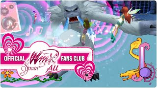 Winx Club PC Game - 30. Winx Club VS Mr. Abominable