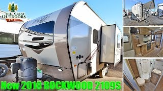 2018 Mini Lite ROCKWOOD 2109S Couple's RV Front Queen Colorado Trailer Dealer