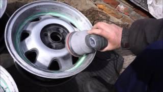 Полировка  литых дисков ATS.