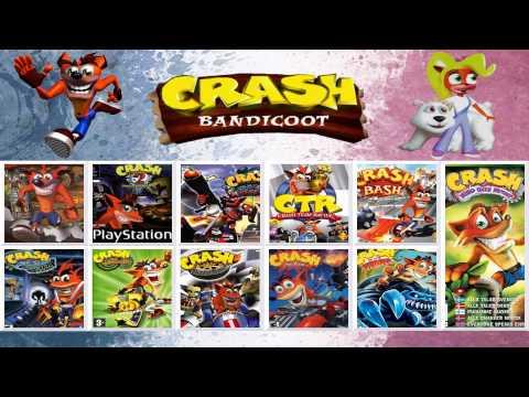 Crash Bandicoot Main Theme OST Evolution