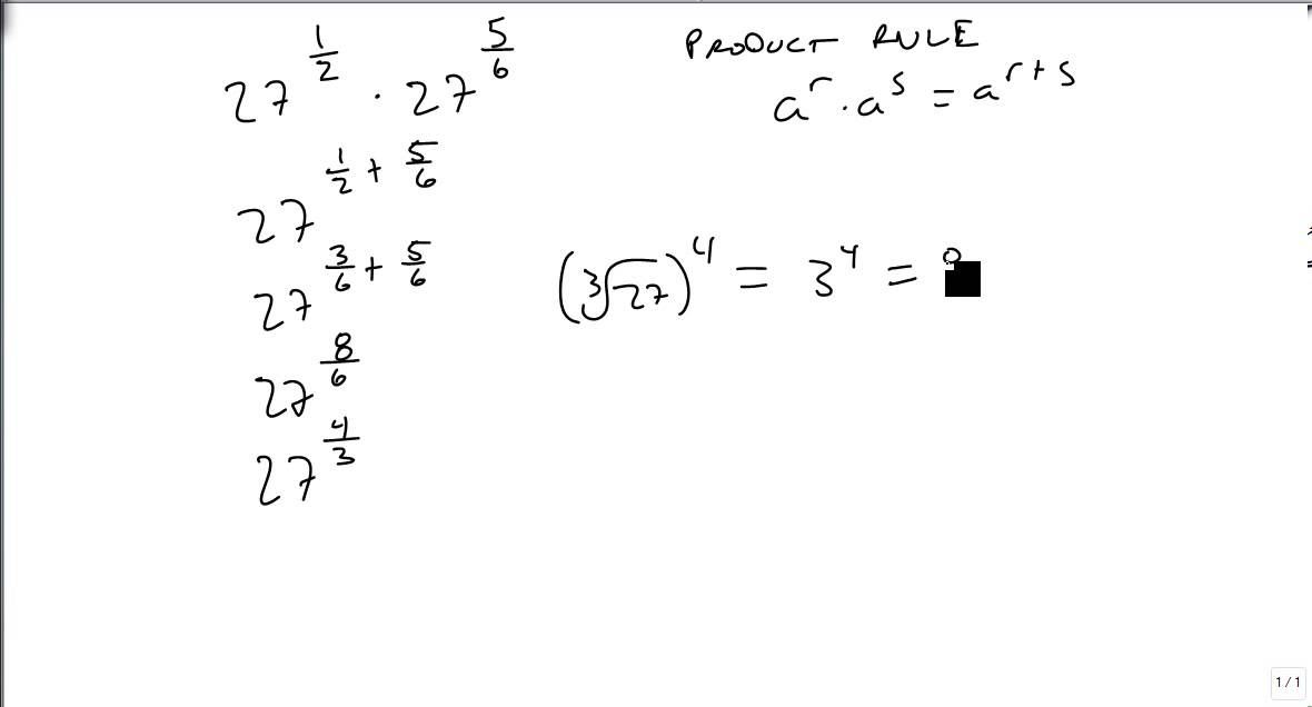 Use Laws of Exponents to Simplify Radicals - YouTube