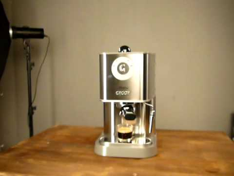 Gaggia Baby Class D - YouTube