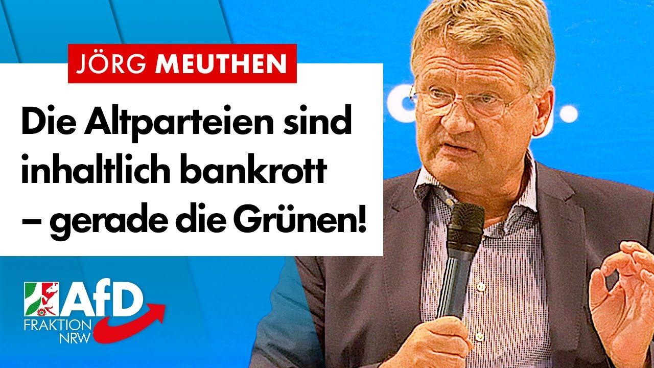 Altparteien sind inhaltlich bankrott! – Prof. Dr. Jörg Meuthen (AfD)