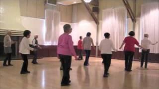 """Texas Cha Cha"" ~ Beginning Line Dance ~ Demo & Stepsheet"