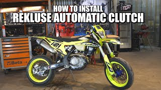 How to Install Rekluse Automatic Motorbike Clutch