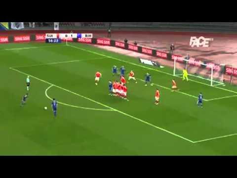 Switzerland - Bosnia & Herzegovina - 0:2 - Miralem Pjanić