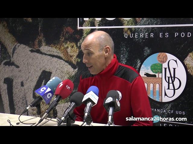 Rueda de prensa tras el Salamanca CF UDS - Real Valladolid B