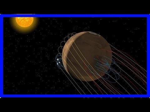 Maven mission finds mars has a twisted tail