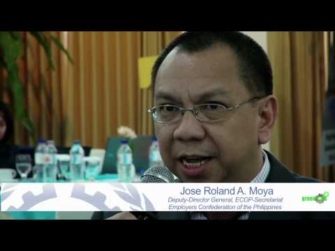 Green Jobs in Asia-Pacific - Constituents Call for More ILO Interventions
