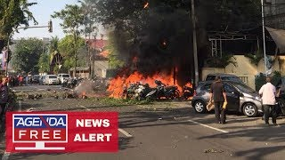 Bombs Explode at Indonesia Churches - LIVE BREAKING NEWS COVERAGE