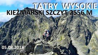 TATRY WYSOKIE - Kiemarski Szczyt 2556 m 05082016