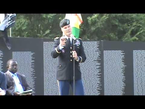 U.S. Army Col. talks about Bosnia Canton,Ga. 9-8-2012
