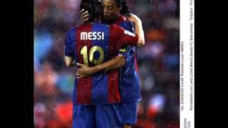 Messi  y  Ronaldinho (1)