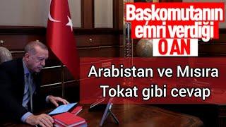 Erdoğan tarihi emri böyle verdi.