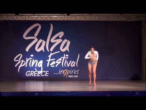 Giolena Kapoli (Greece)@Salsa Spring Dance Cup 2018, Greece