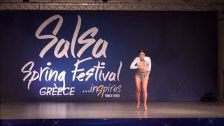 Giolena Kapoli (Greece)@Salsa Spring Dance Cup 2019, Greece