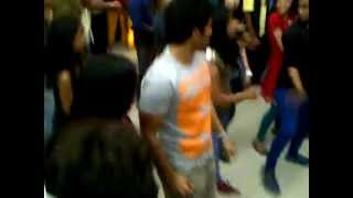IPL FLASH MOB Allu sirish and yami Gautham @ prasad imax