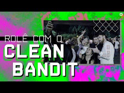 Ensinamos o Clean Bandit a fazer quadradinho e sarrada no ar