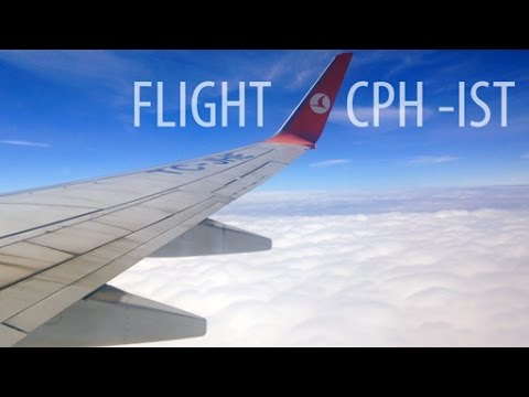 Flight Copenhagen To Istanbul ✈ with Turkish Airline (A321) on Economy class