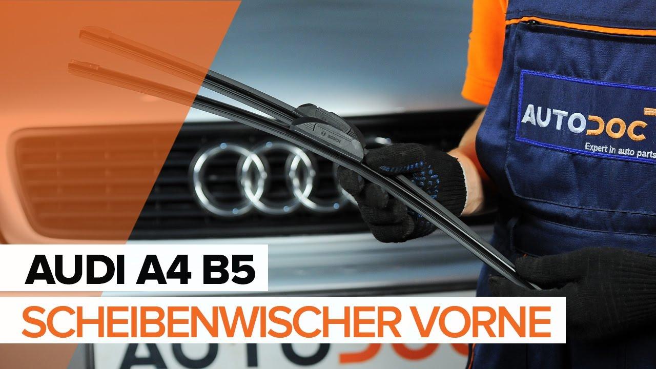 Wie Audi A4 B5 Scheibenwischer Vorne Wechseln Tutorial Autodoc