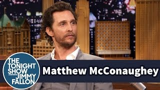 Matthew McConaughey s Mom Helped Him Plagiarize
