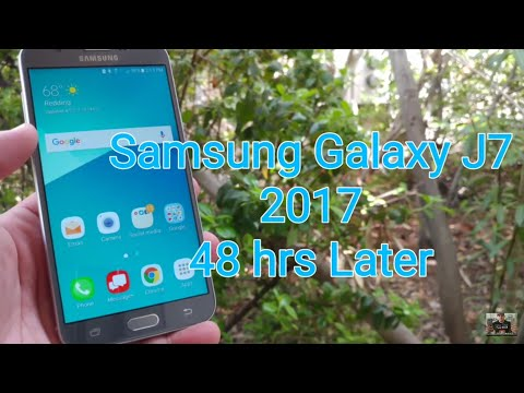Samsung Galaxy J7 2017 my experience using for the last 48 hrs